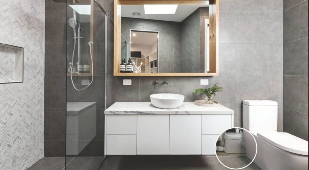 how to clean bathroom quickly and effectively