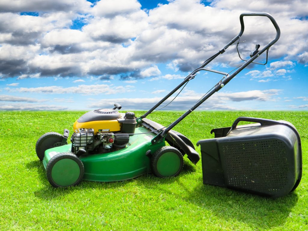 how to use your lawnmower