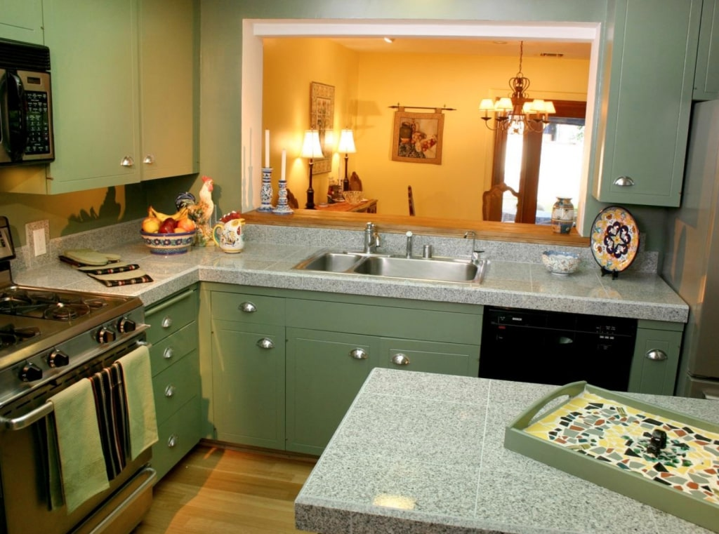 learn to clean your kitchen counter
